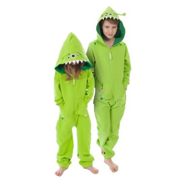Combinaison alien Jungle Enfant