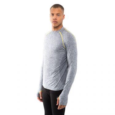 Aim High T-Shirt Manches Longues Gris Clair
