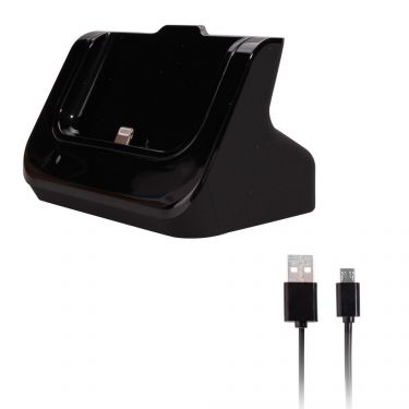 Dock iPhone 6 & iPhone 7 + câble (connexion Lightning 8pin) - Noir