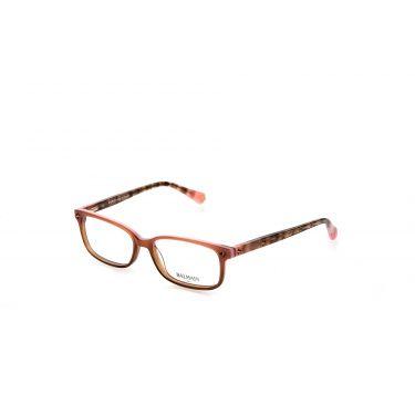 Monture optique rose, brun