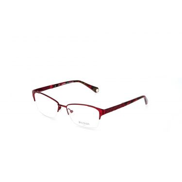 Monture optique simple rouge