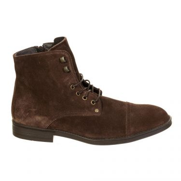 Bottines cuir Marron
