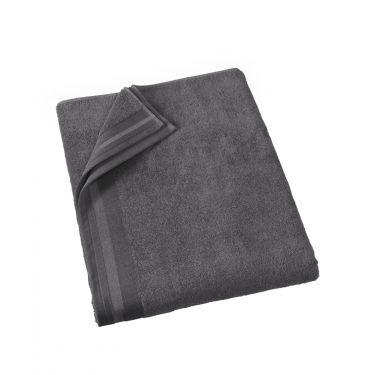 Drap de Bain 100x150 cm gris foncé
