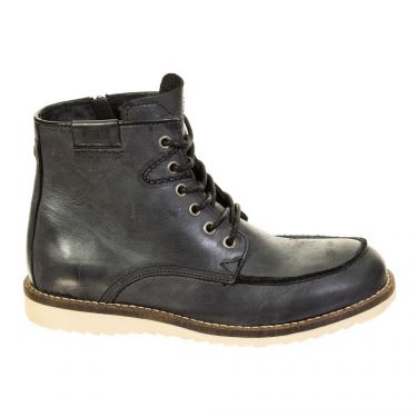 Bottines cuir Black