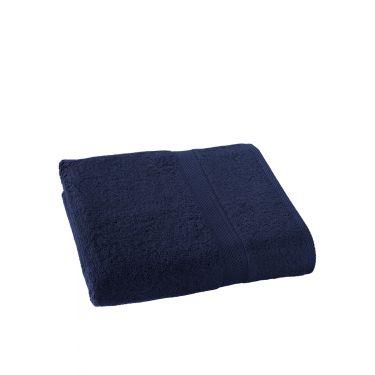 Drap de Bain 100x150 cm bleu foncé