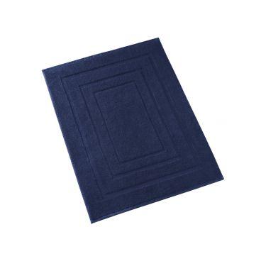Tapis de Bain 50x75 cm bleu foncé