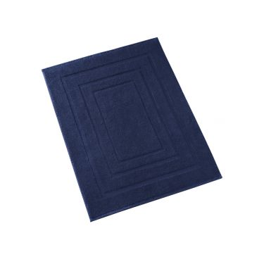 Tapis de Bain 60x100 cm bleu foncé
