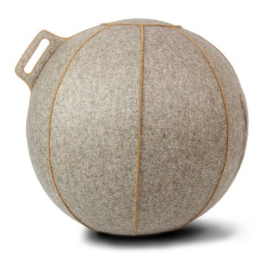 Seating ball beige-brune