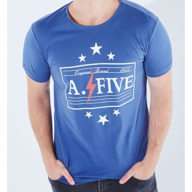T-shirt Las Vegas Bleu foncé