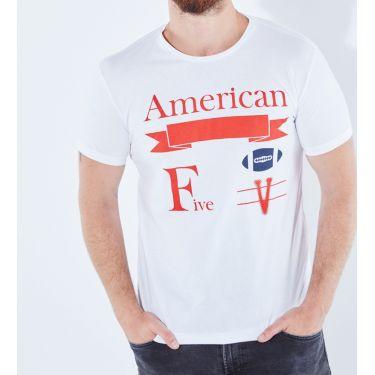 T-shirt Atlanta Blanc