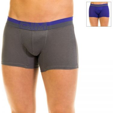 Lot de 2 Boxers Coton Stretch Violet/Gris