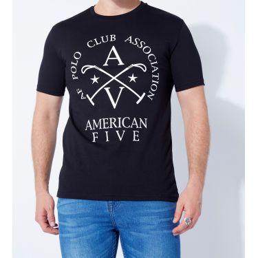 T-shirt Horse Noir
