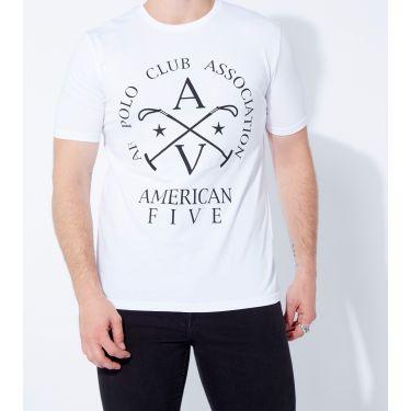 T-shirt Horse Blanc