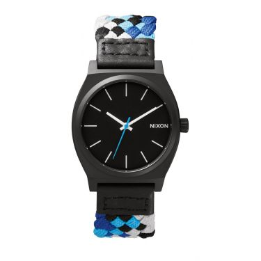 MONTRE Time Teller Black / Blue Woven