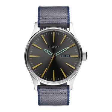 MONTRE Sentry Leather Gunmetal / Gray