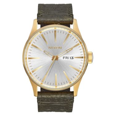MONTRE Sentry Leather Gold / Olive