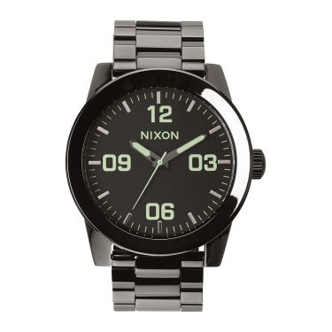 MONTRE Corporal SS Polished Gunmetal / Lum