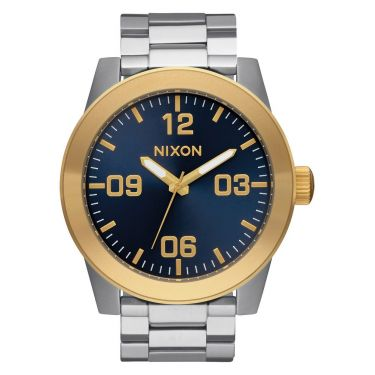 MONTRE Corporal SS Gold / Blue Sunray
