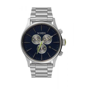 MONTRE Sentry Chrono Midnight Blue / Volt Green