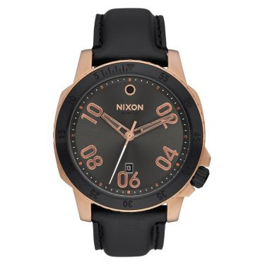 MONTRE Ranger Leather Rose Gold / Gunmetal Sunray