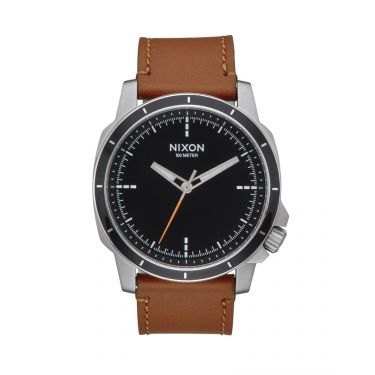 MONTRE Ranger Ops Leather Black / Saddle