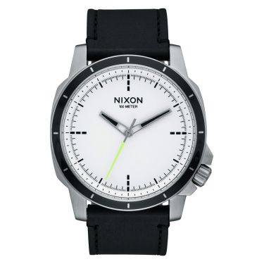 MONTRE Ranger Ops Leather White / Black
