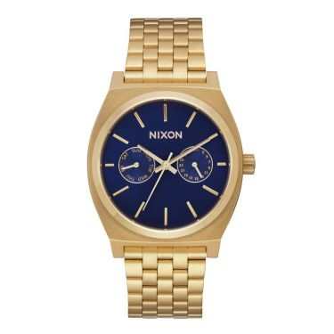MONTRE Time Teller Deluxe All Gold / Navy Sunray