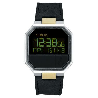 MONTRE Re-Run Leather Black / Brass