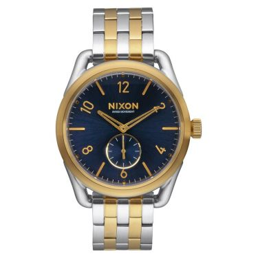 MONTRE C39 SS Gold / Blue Sunray