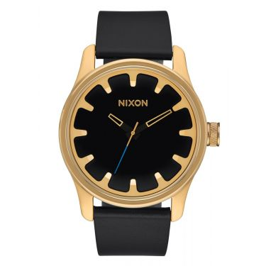 MONTRE Driver Leather Gold / Black