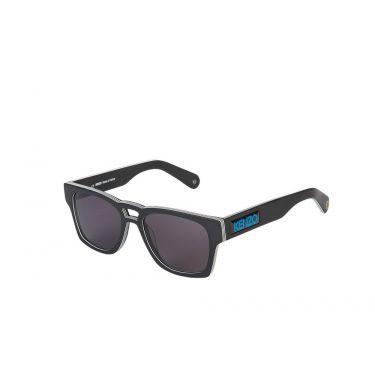 lunettes de soleil noir/blanc