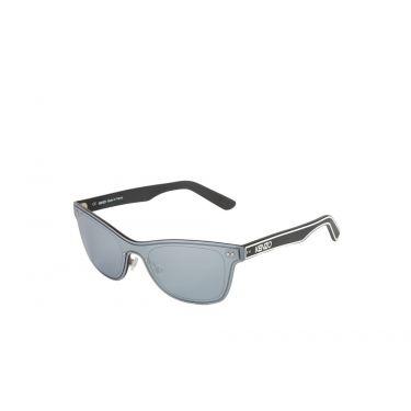 lunettes de soleil miroir/gris