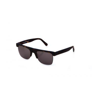 lunettes de soleil miroir/bleu marine