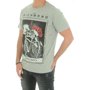T-Shirt DAMOLANDIA GRIGIO MEL