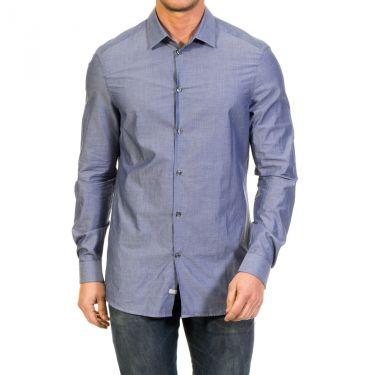 Chemise bleu gris