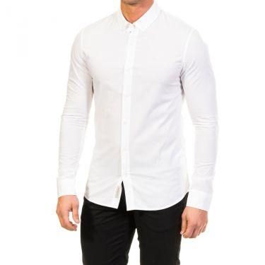 Chemise classic blanche étiquettée