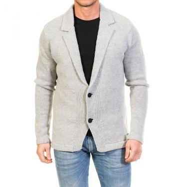 Cardigan gris clair