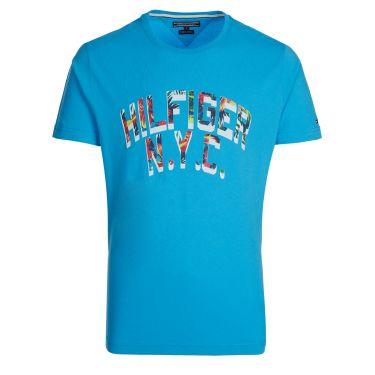 T-shirt turquoise-29