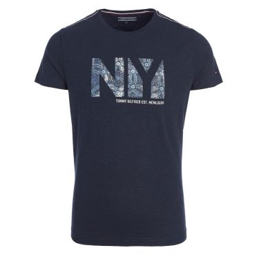 T-shirt bleu-09