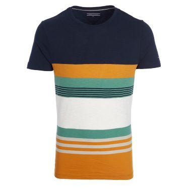 Tee Shirt - bandes larges colorées