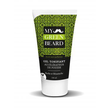 Gel tonifiant pousse pour barbe