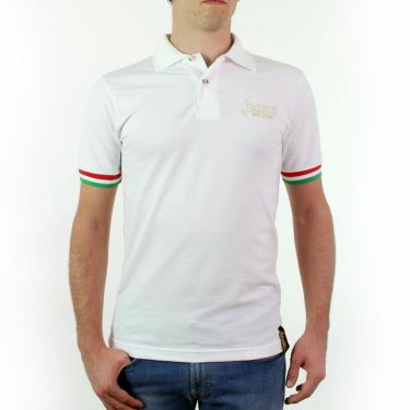 Polo blanc col simple