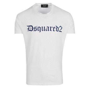 T-shirt blanc Logo