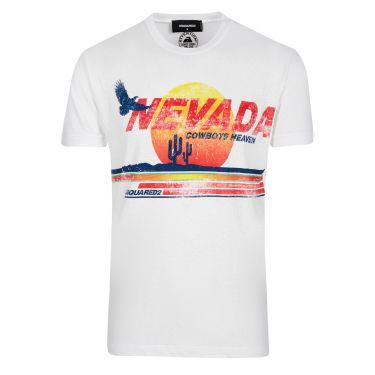 T-shirt blanc Nevada