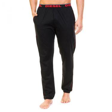 Pantalon de pyjama Noir-rouge