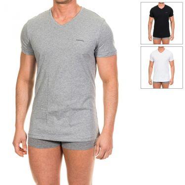 Lot de 3 T-shirts The Essential Noir-blanc-gris