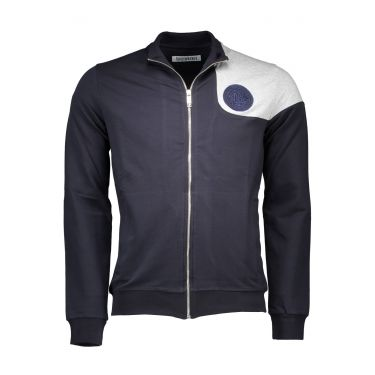 Sweatshirt avec zip - Bleu