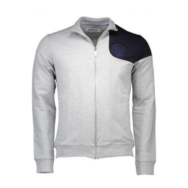 Sweatshirt avec zip - gris