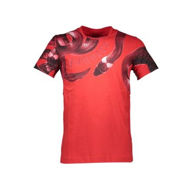 T-SHIRT manches 3/4 - rouge