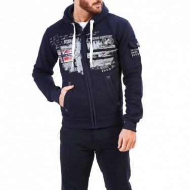 Sweatshirts Fohnson  bleu-blanc